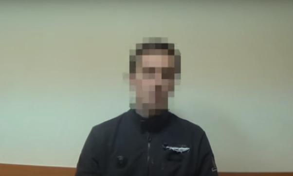 Задержанный пособник боевиков ДНР