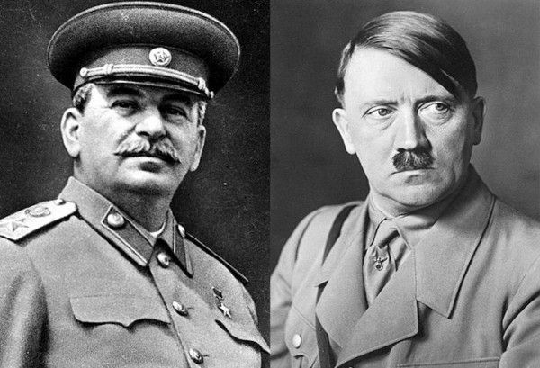 Иосиф Сталин и Адольф Гитлер