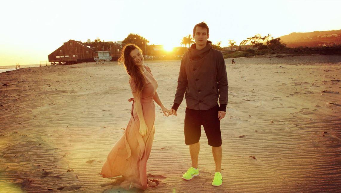 Александр Новиченков с женой