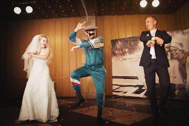 Веселый ведущий - находка для свадьбы