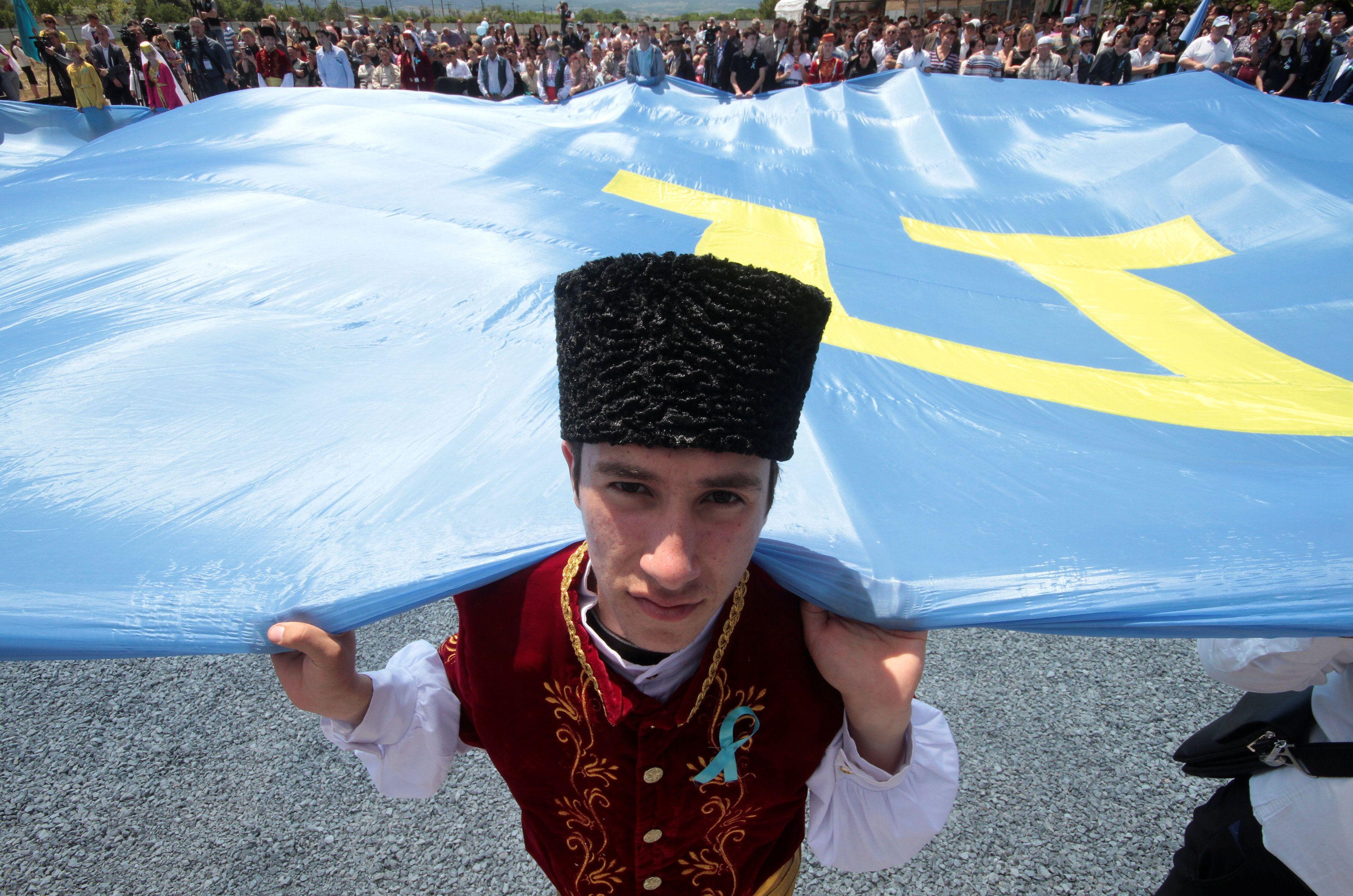 Крымские татары, флаг
