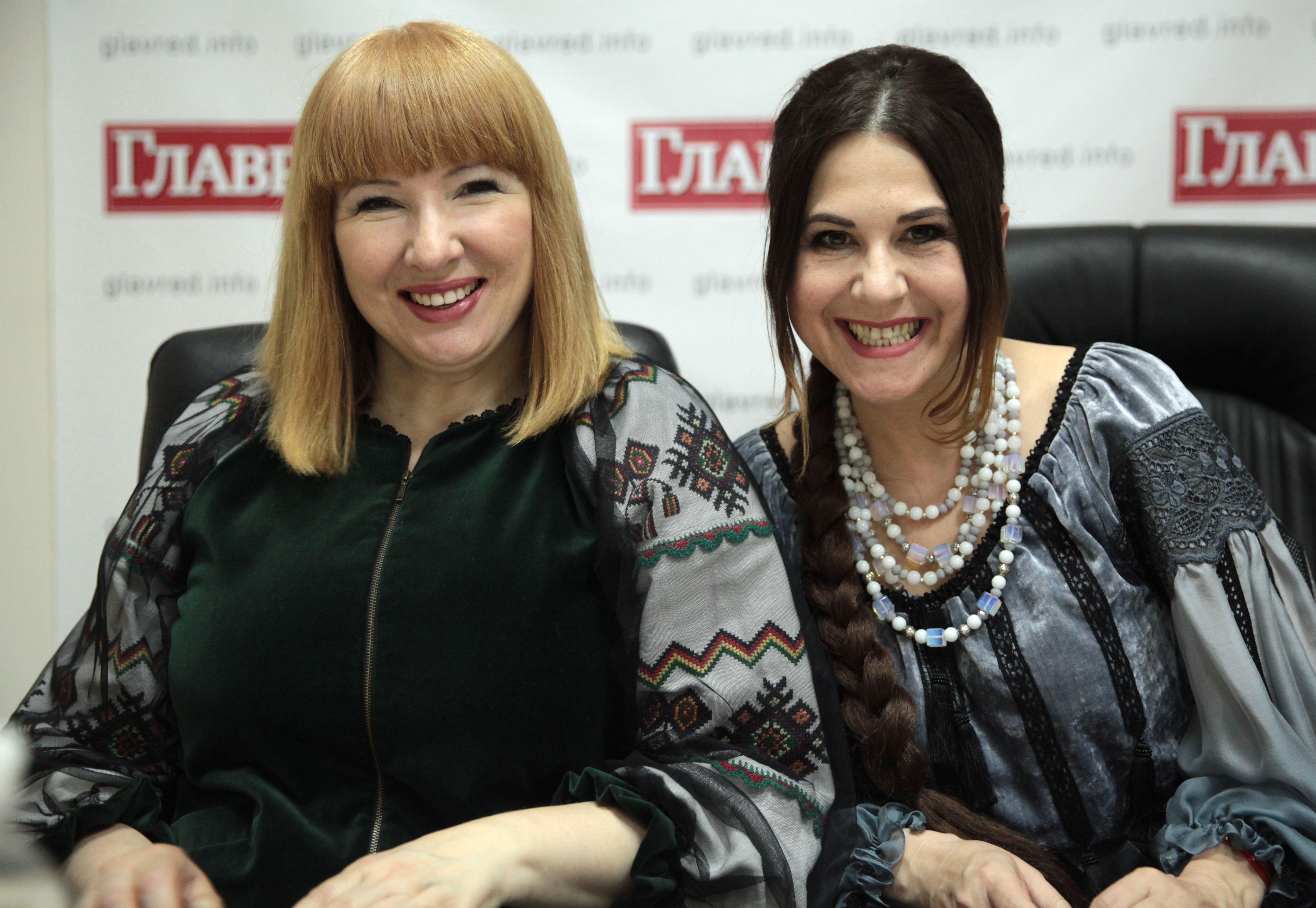 Анжеліка Рудницька і Світлана Кубрак