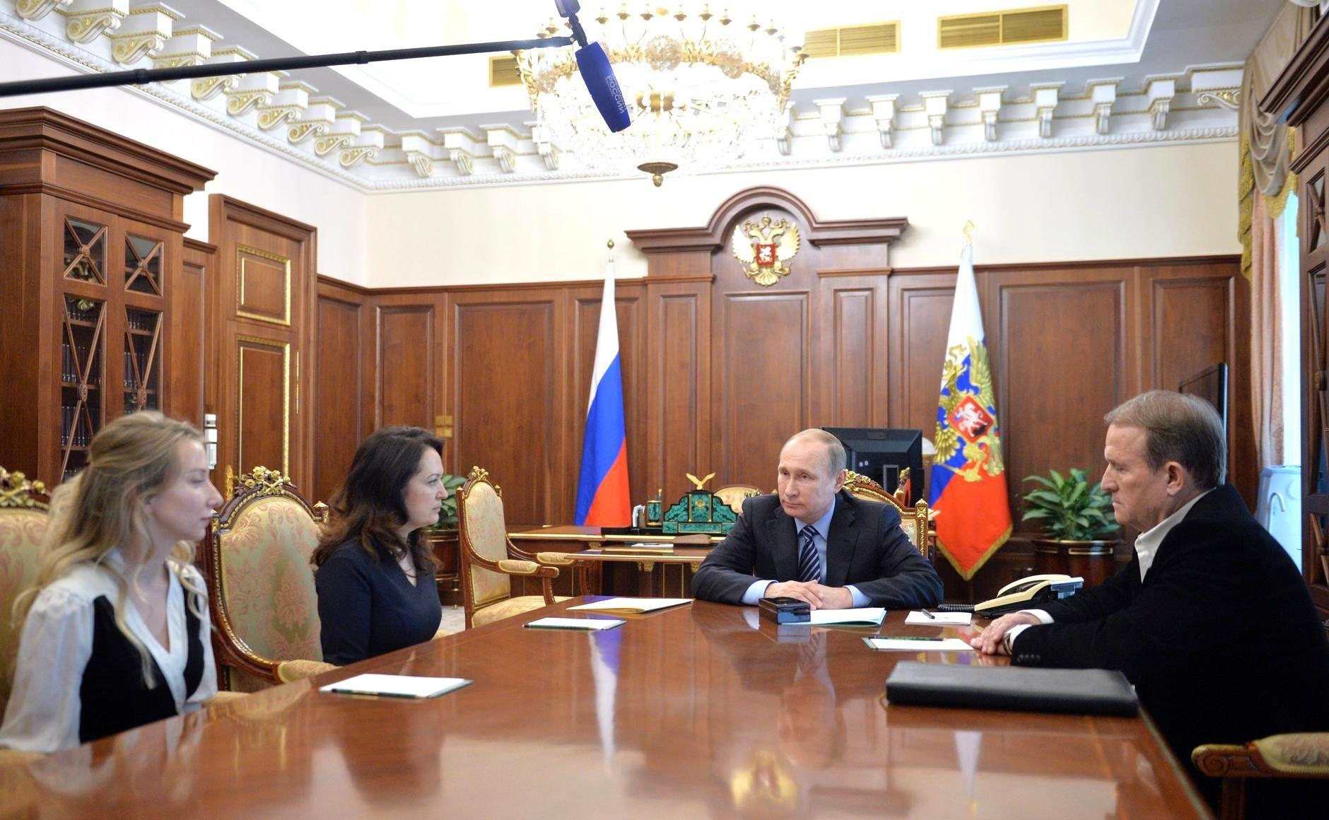 Встреча у Путина