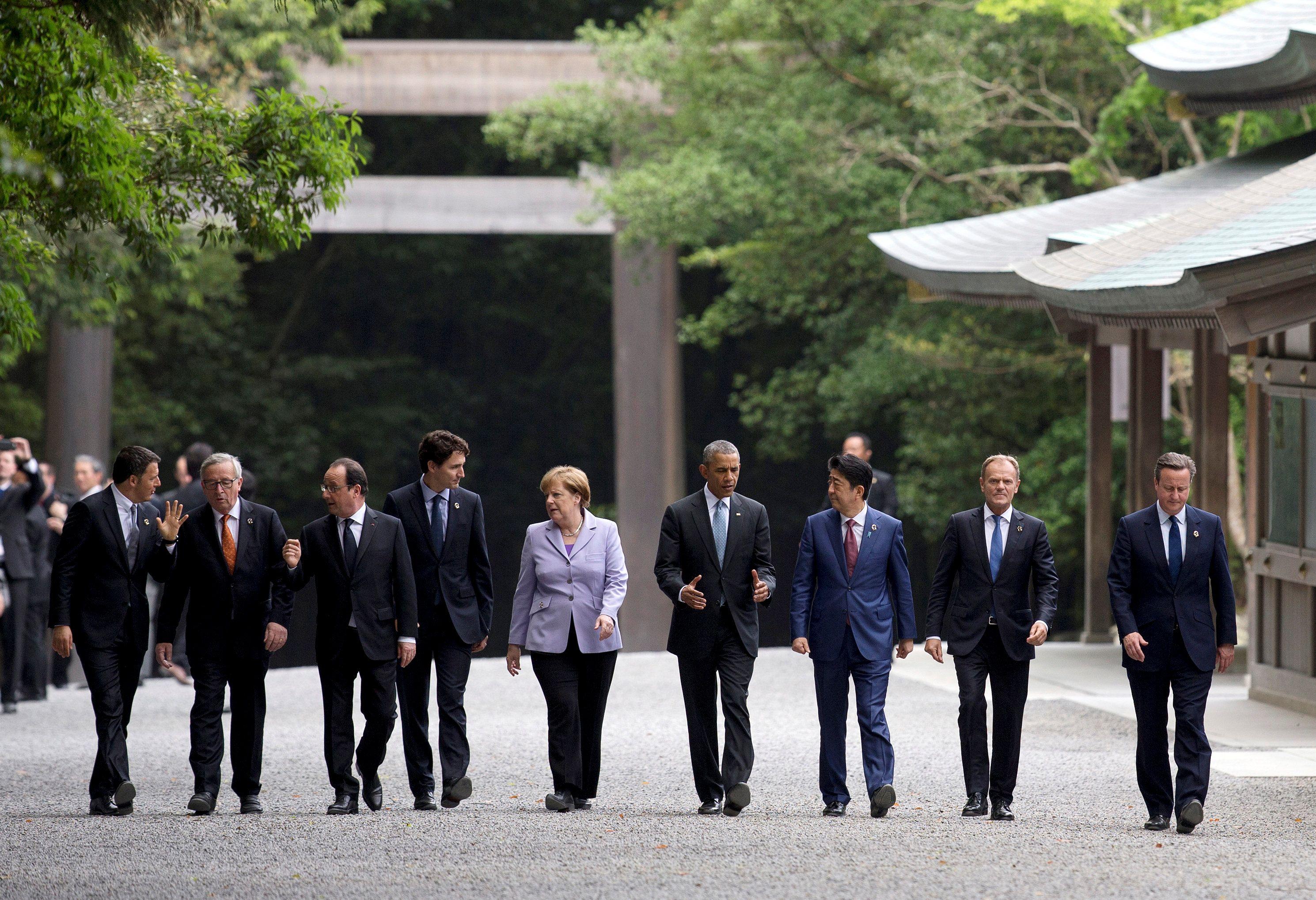 Саммит G7 в Японии.