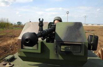 Украинский военный, иллюстрация