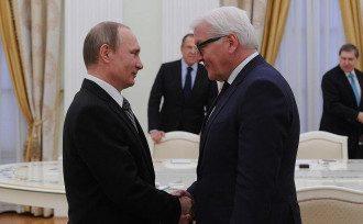 Путин и Штаймайер