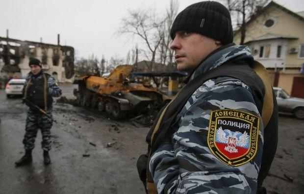 Полицаи ДНР