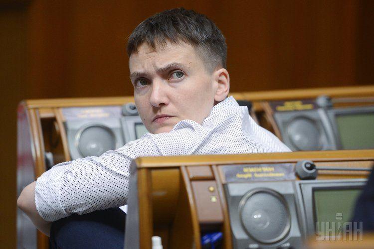 В Раде поддержали арест Надежды Савченко