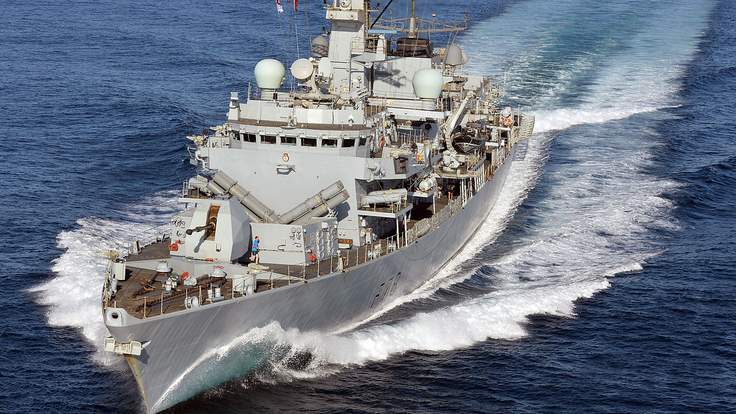 Корабль HMS Kent