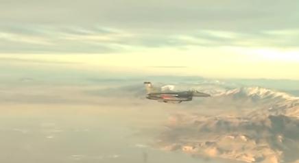Истребитель F-16, иллюстрация