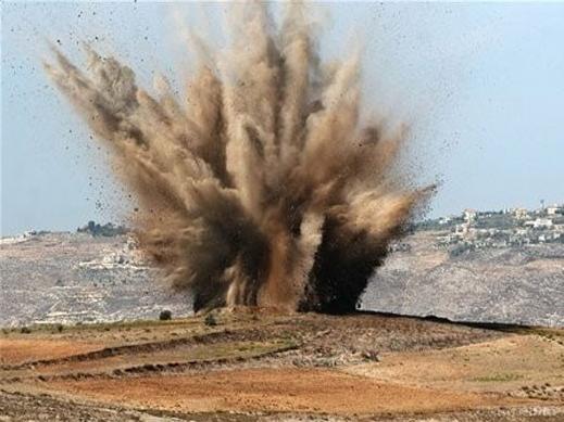 Взрыв, иллюстрация