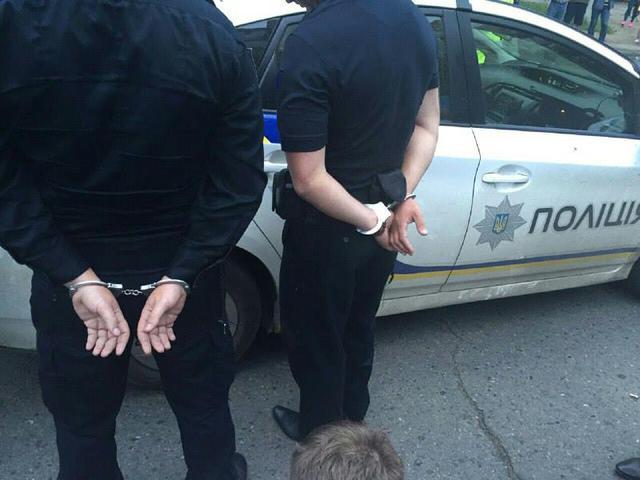 В Одессе поймали патрульных полицейских-взяточников