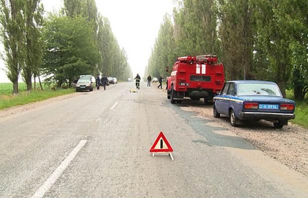 Трагическое ДТП на Виннитчине: в машине сгорели 4 человека
