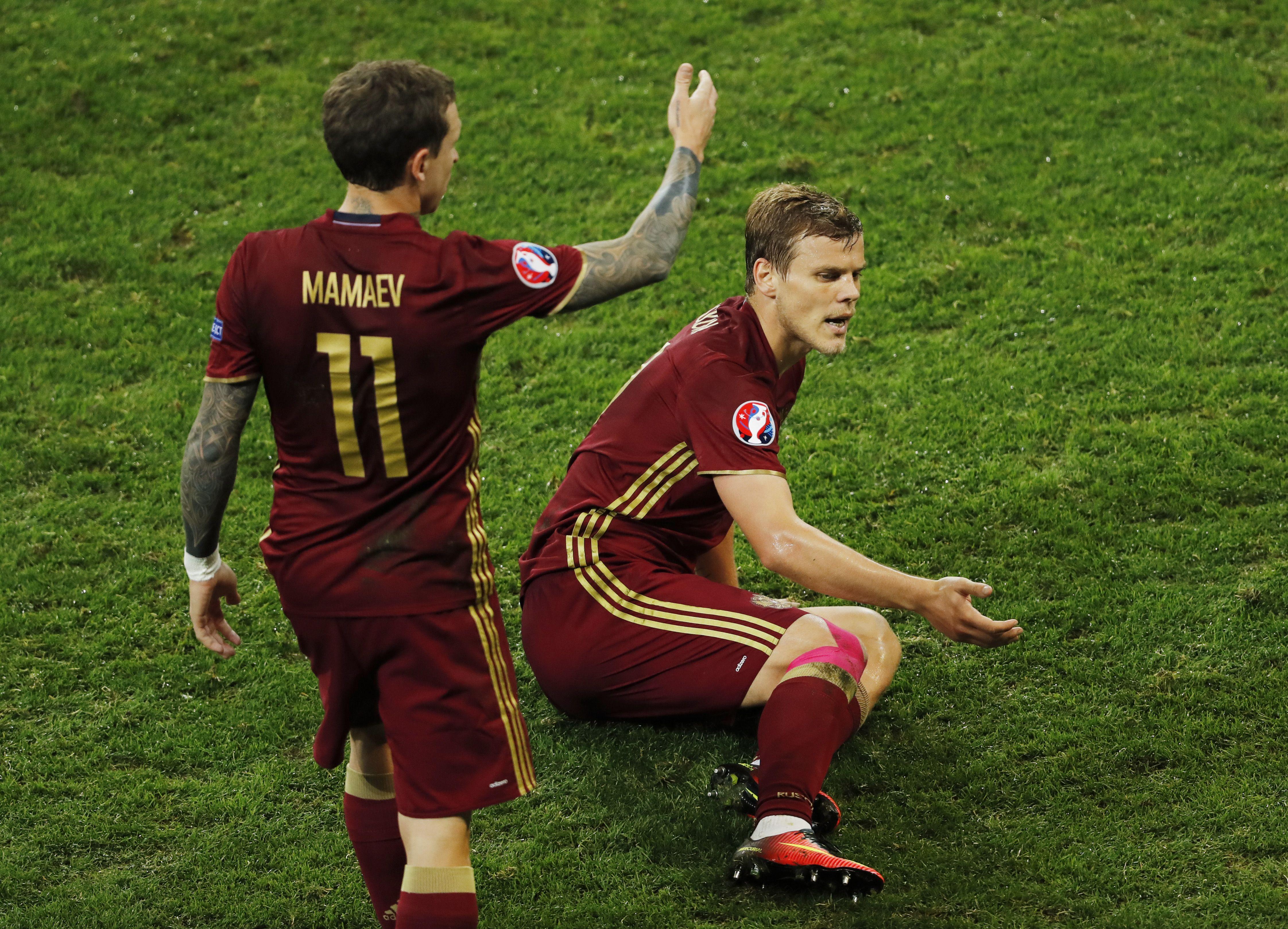 Кокорина и Мамаева на воле лишают возможности играть в футбол – Кокорин и Мамаев новости сегодня