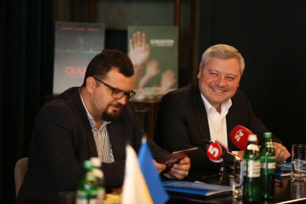 Глава Госкино Филипп Ильенко и меценат Игорь Янковский