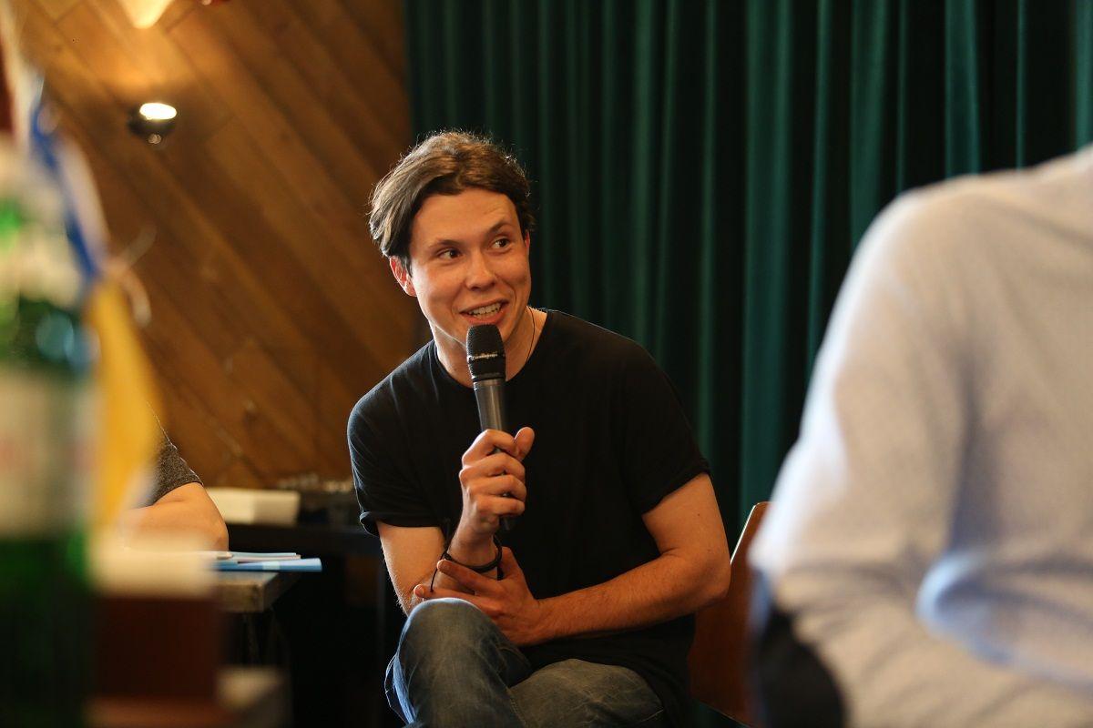 Никон Романченко дает советы будущим участникам кинофестивалей