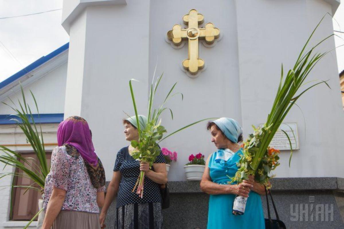 Троица отмечается через 50 дней после Пасхи.
