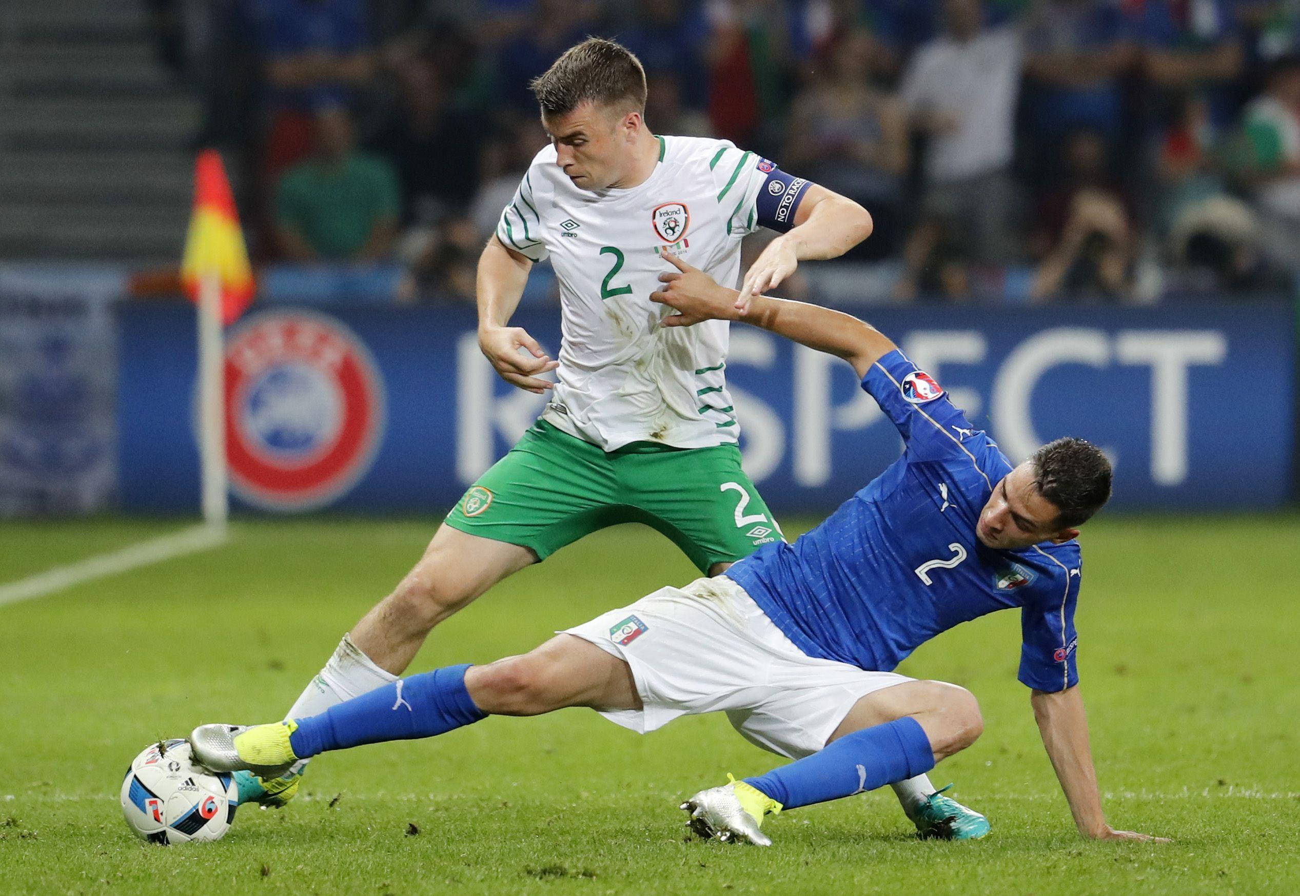 Эпизод матча Италия — Ирландия