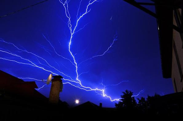 Погода в Украине — В понедельник почти всю Украину накроют дожди с грозами, отметили в Гидрометцентре