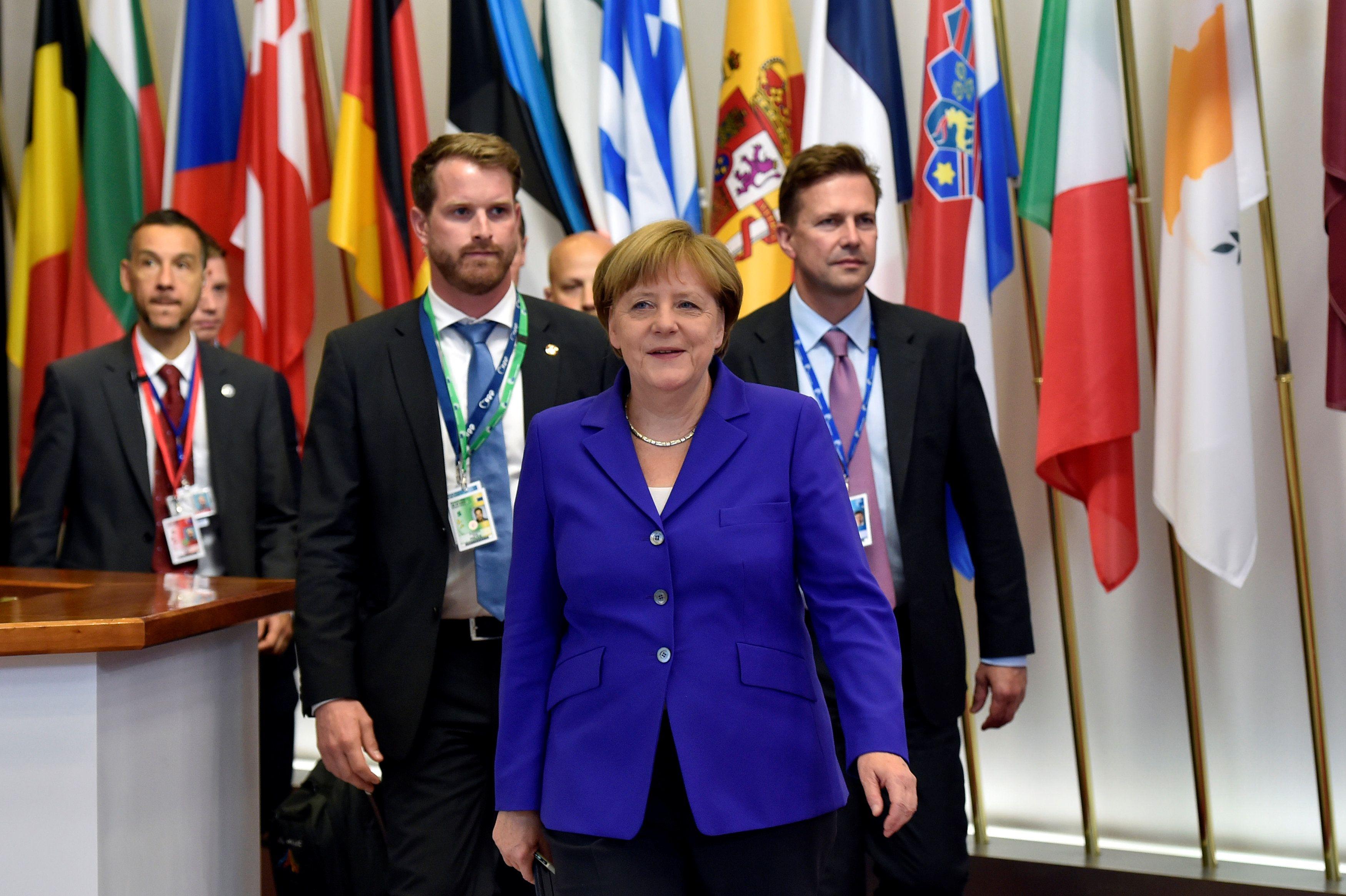 Лидеры стран Евросоюза на саммите в Брюсселе.