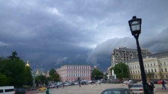 Непогода в Киеве, иллюстрация