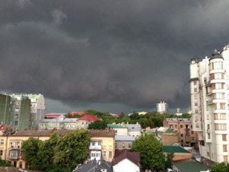 Непогода в столице, иллюстрация