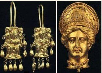 Скифское золото, иллюстрация