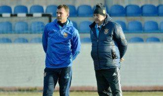 Михаил Фоменко и Андрея Шевченко