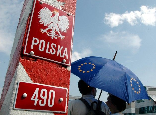 Польша, граница