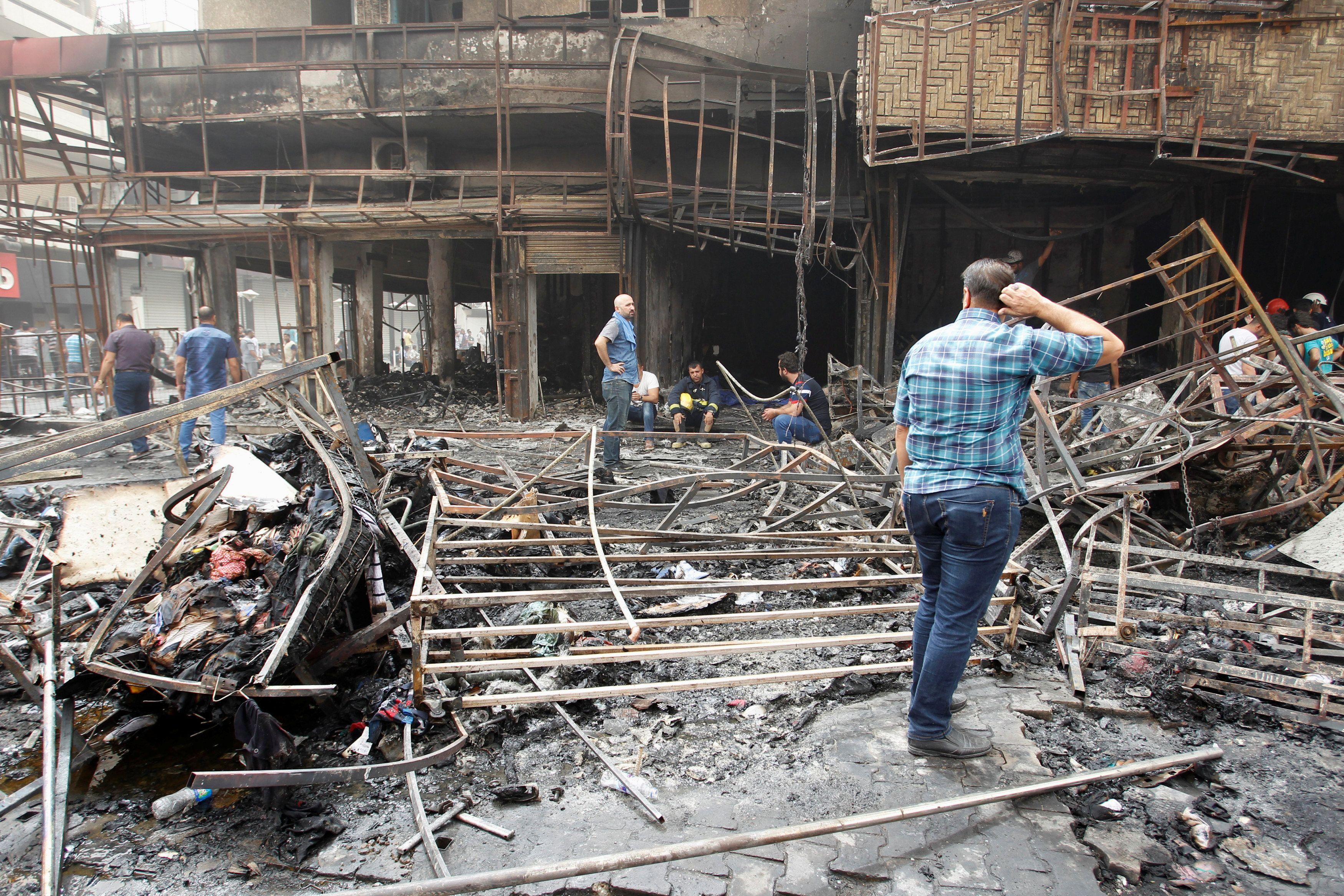 Двойной теракт в Багдаде.