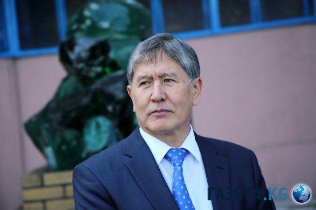 Альмазбек Атамбаев