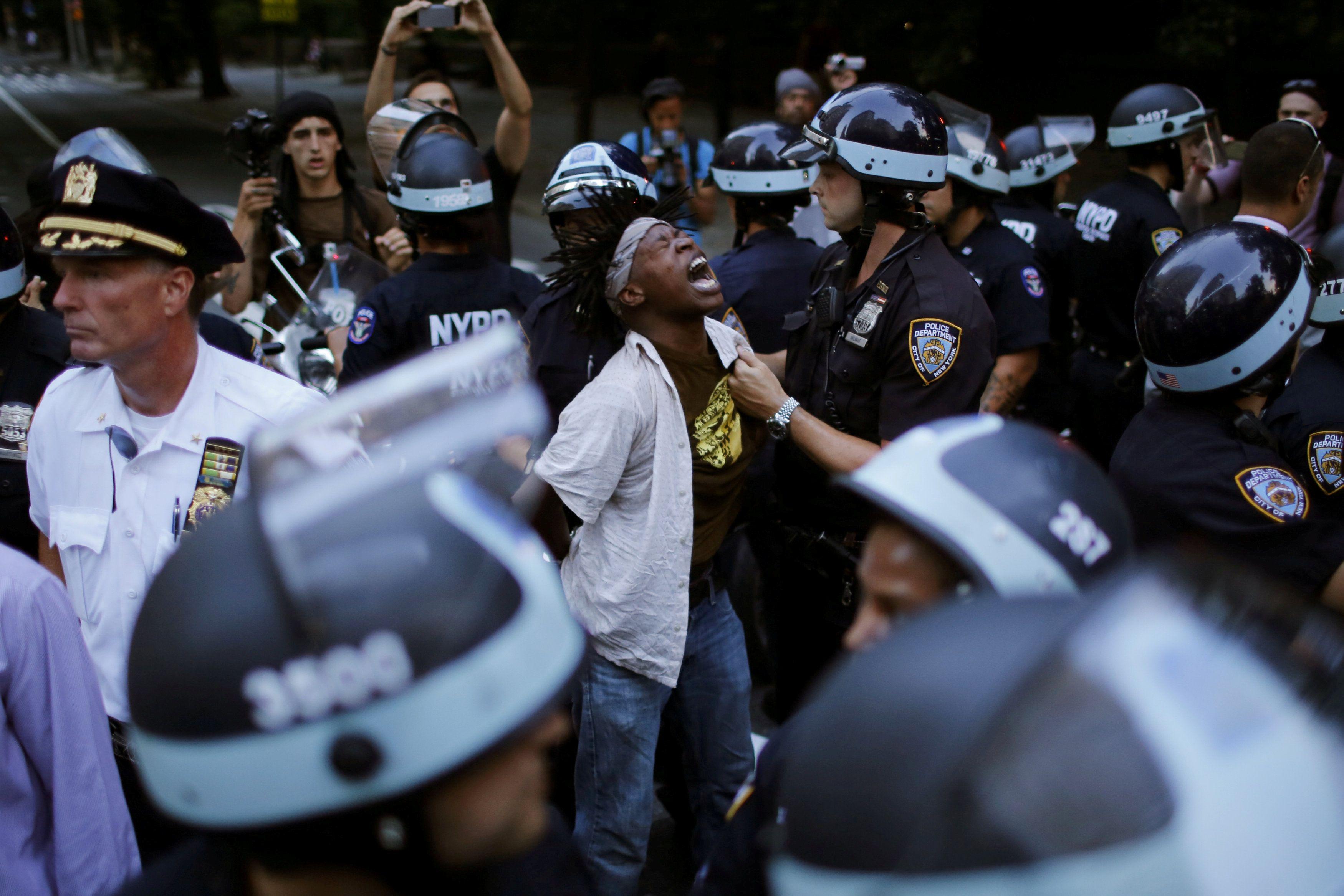 Акция протеста в США, иллюстрация