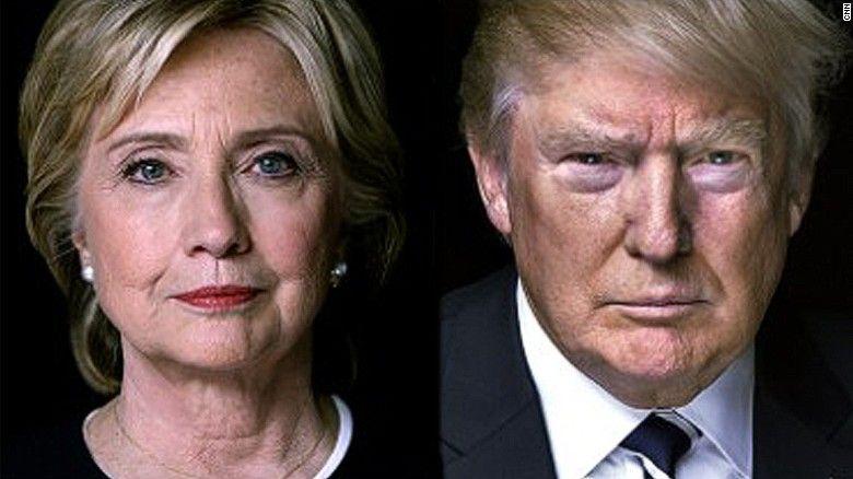 Клинтон vs Трам