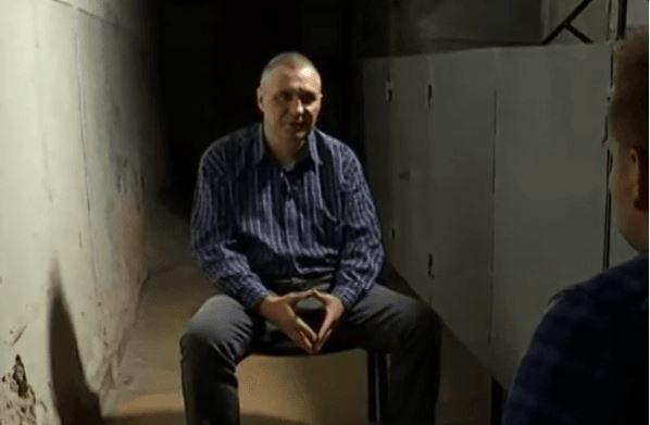 Задержанный харьковский сепаратист Андрей Бородавка.