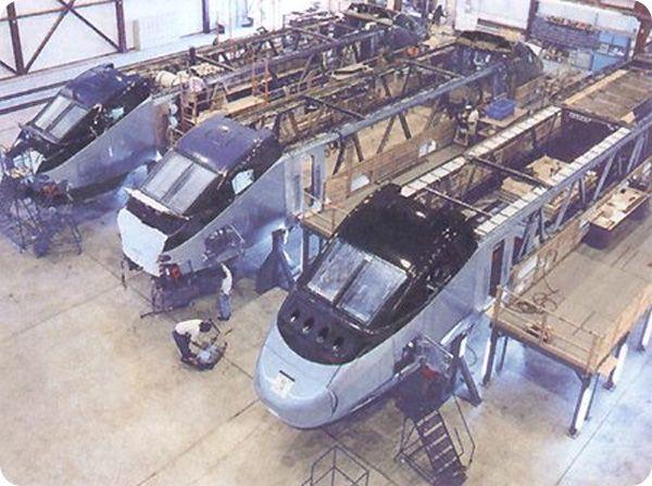 Производственные цеха Bombardier