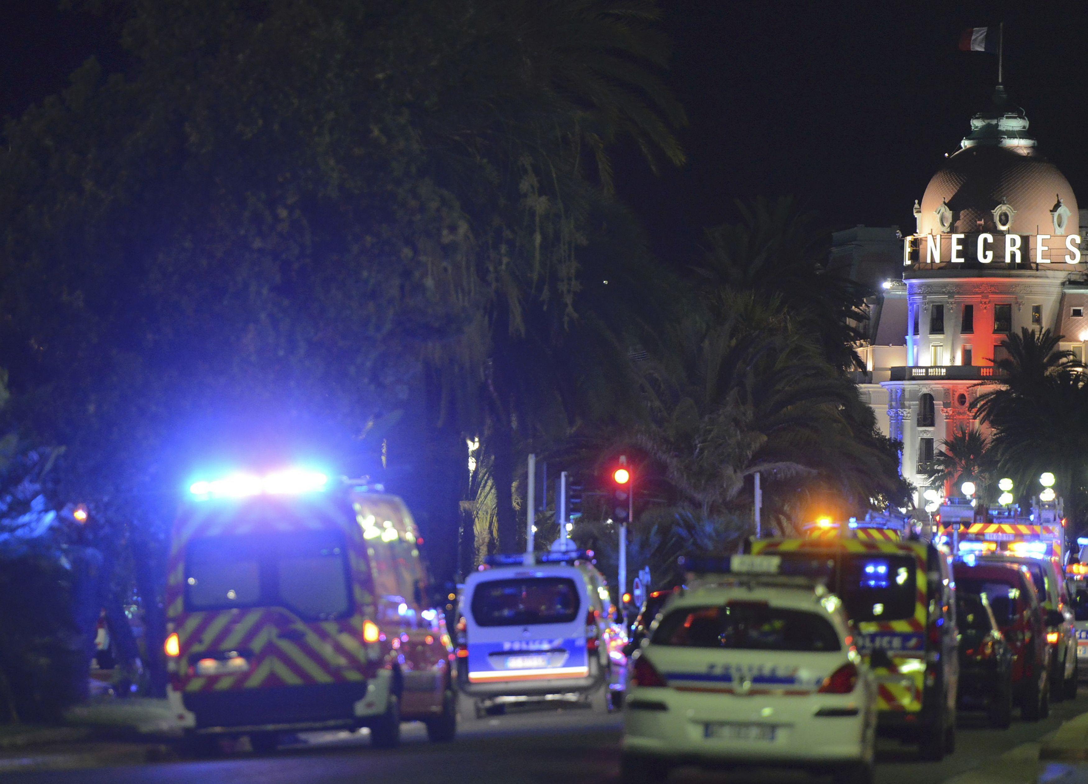 Теракт в Ницце.
