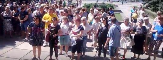 Предприниматели митинговали против налогов и сборов от ДНР