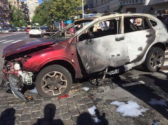 У Авакова рассказали подробности взрыва автомобиля Шеремета