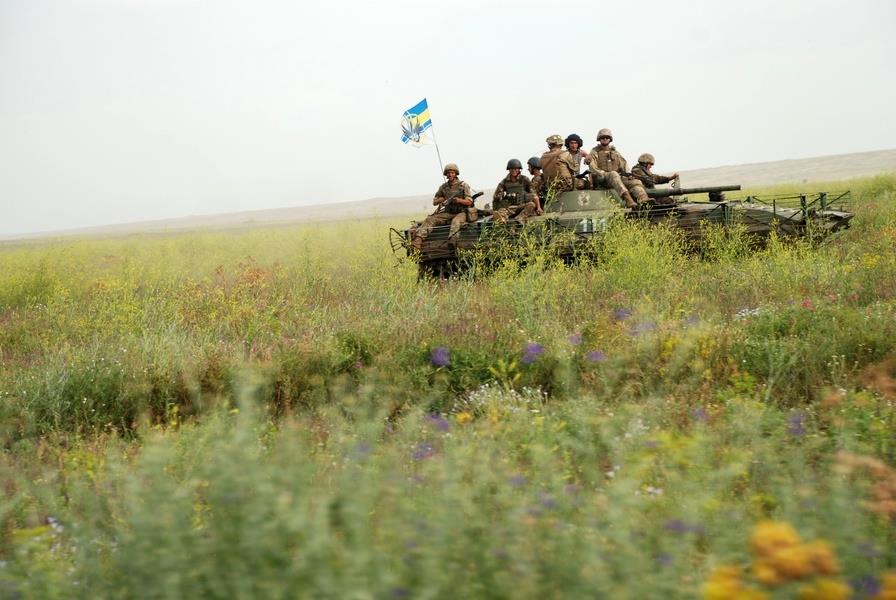 БМП украинских военных