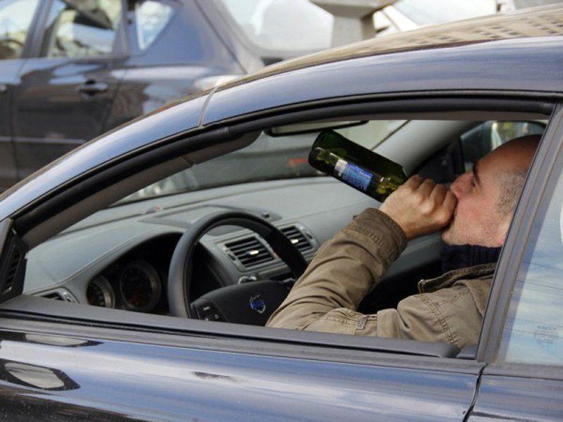 В Харькове поймали пьяного за рулем
