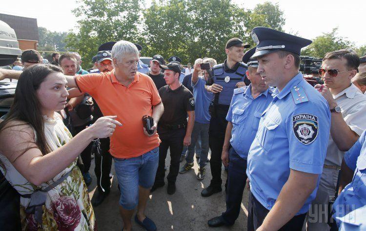 Крестный ход в Великой Александровке на Киевщине, иллюстрация