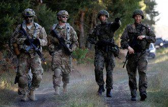 НАТО, Польша, солдаты