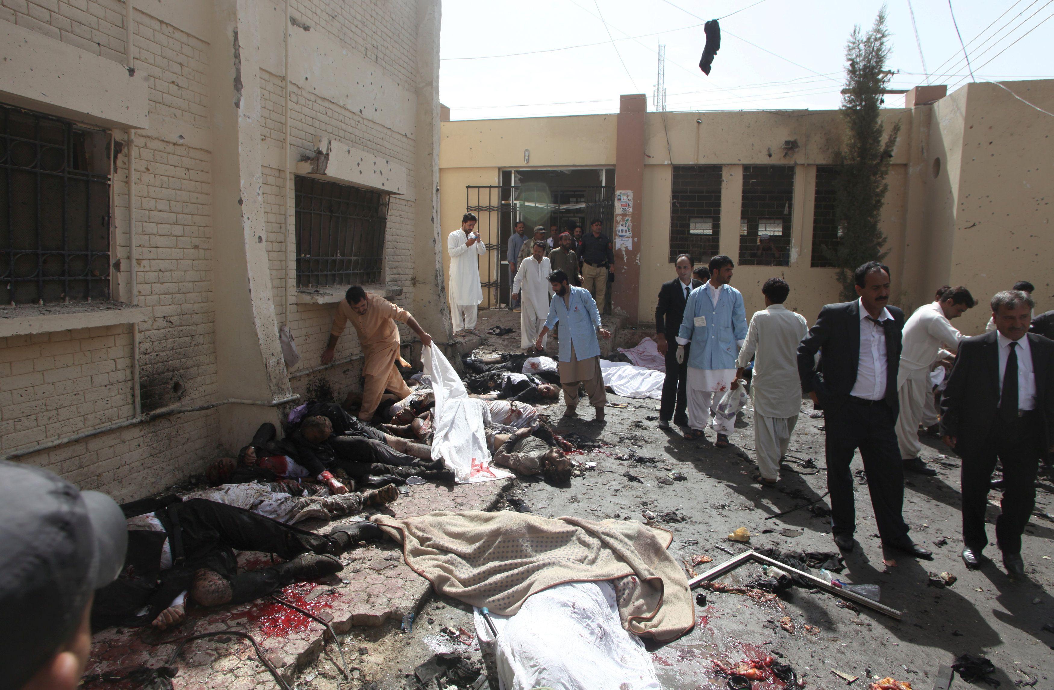 В результате взрыва пострадали 19 человек