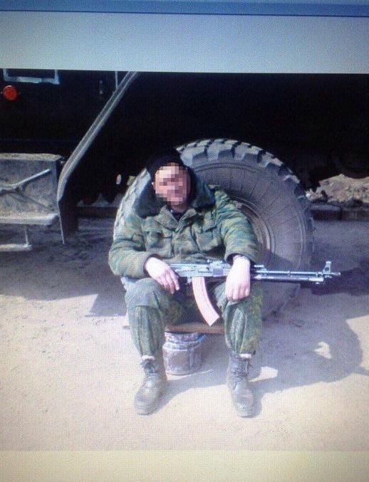 Один из задержанных боевиков