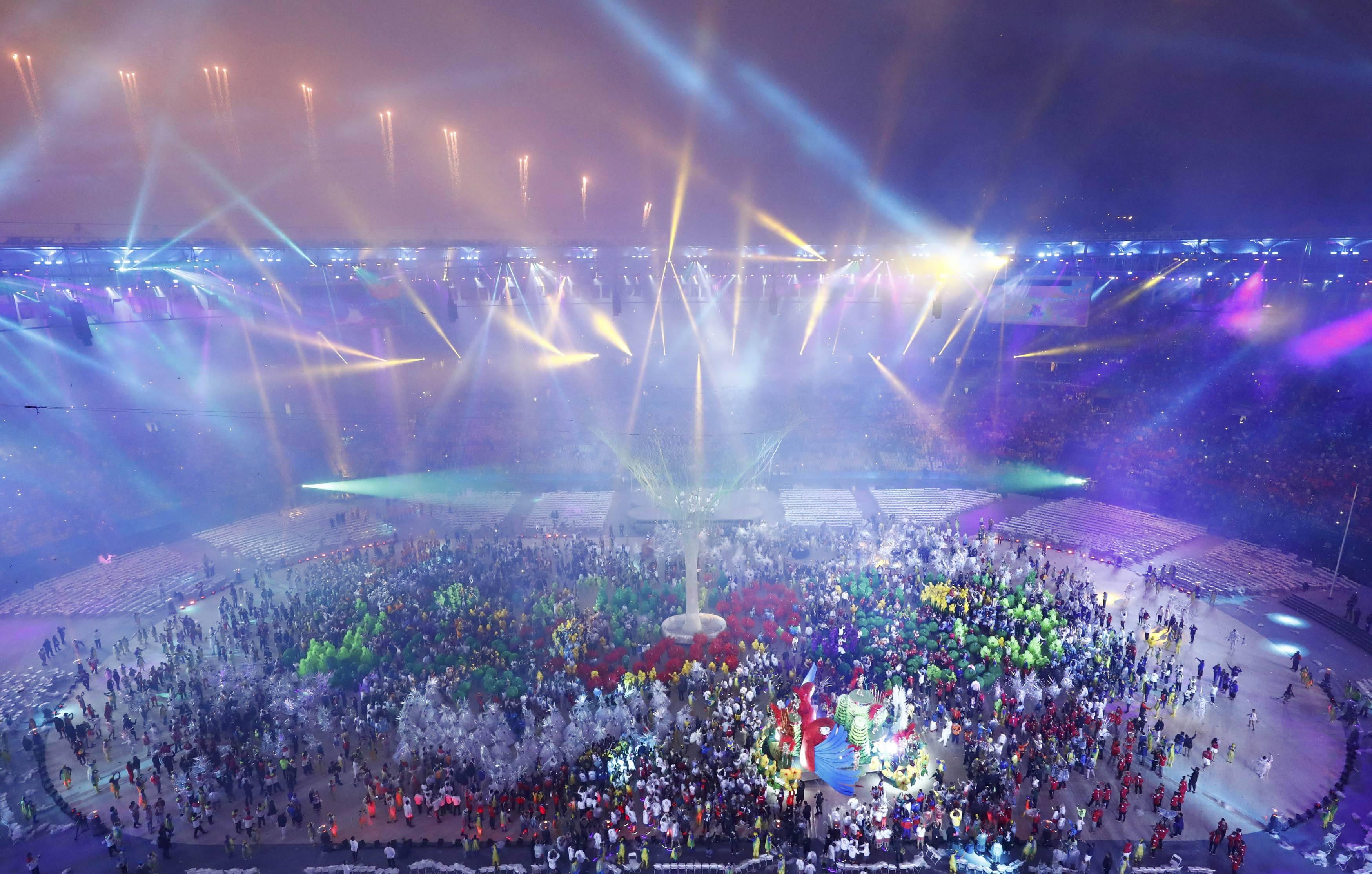 Закрытие Олимпиада