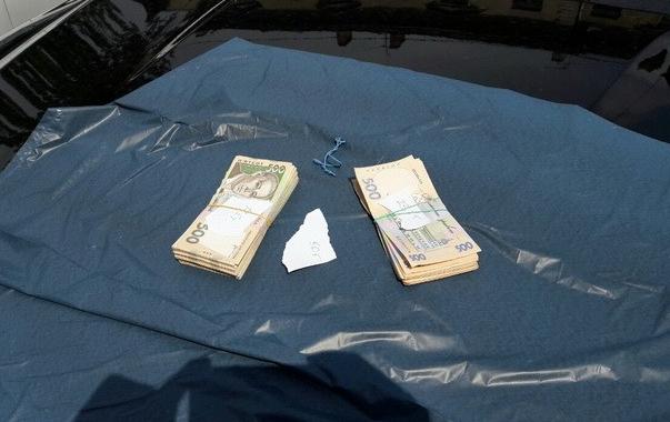 Деньги, найденные у посредника