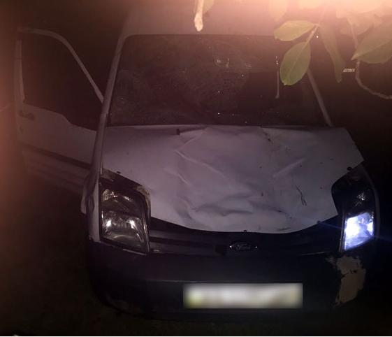 Авто, которое после аварии нашли правоохранители