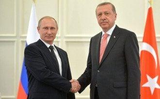 Путин,Эрдоган