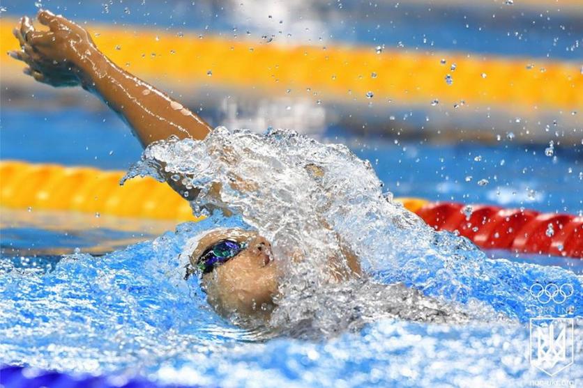 Украинка победила в финальных заплывах на 50 и 200 метров на спине