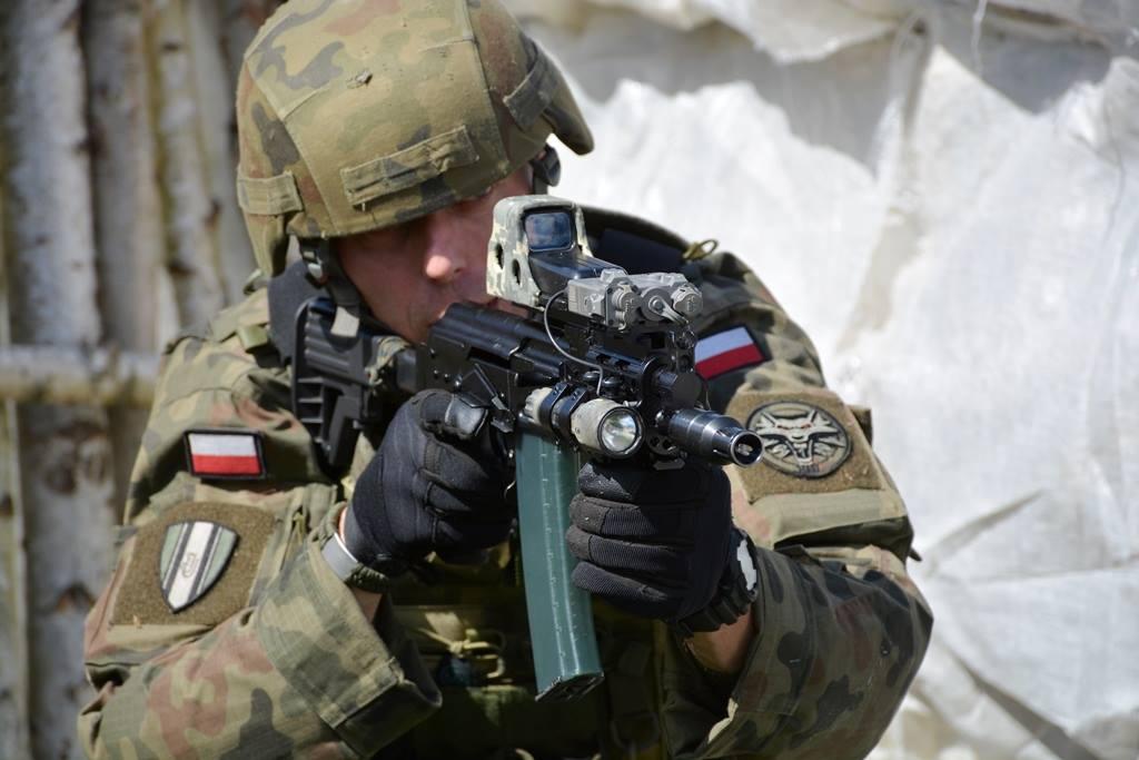 Польский военный